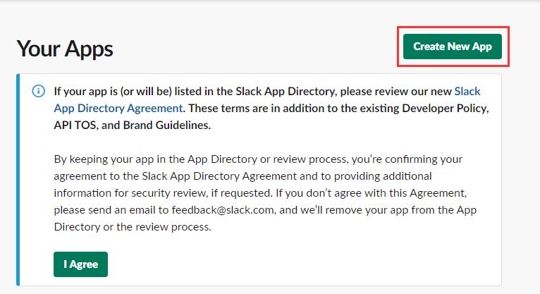 新しいアプリを作成